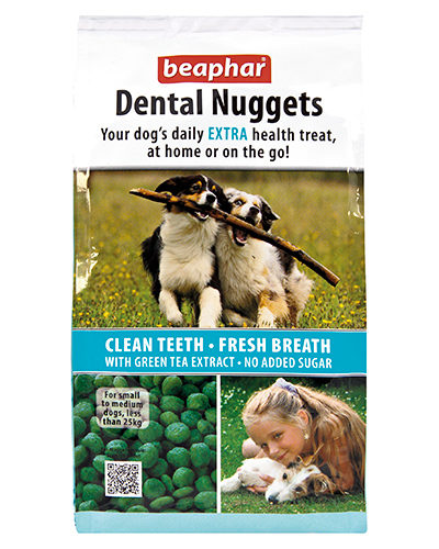 Avbildet: Beaphar Dental Nuggets