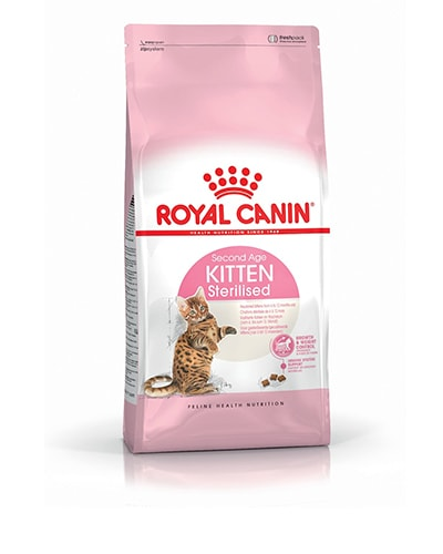 Avbildet: Royal Canin Feline Kitten Sterilised