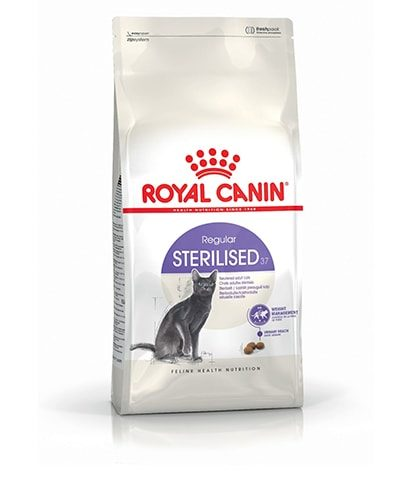 Avbildet: Royal Canin Feline Health Nutrition Regular Sterilised 37