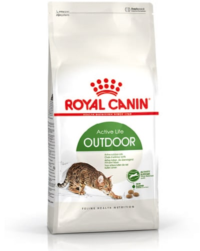 Avbildet: Royal Canin Outdoor kattemat