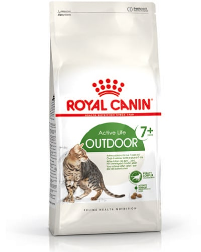 Avbildet: Royal Canin Outdoor 7+ kattemat
