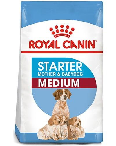 Royal Canin Starter - Mother and babydog Medium hundefôr