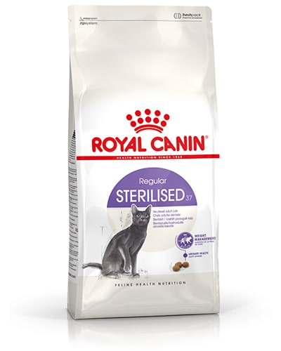 Avbildet: Royal Canin Regular Sterilised 37 kattemat