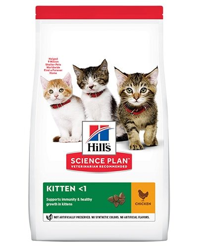 Avbildet: Hill's SP Kitten Chicken
