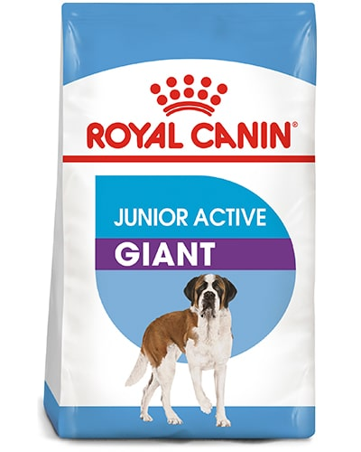 Avbildet: Royal Canin Junior Active Giant hundefôr