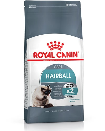 Avbildet: Royal Canin Hairball Care kattemat