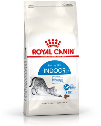 Avbildet: Royal Canin Indoor 27 kattemat