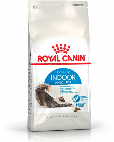 Avbildet: Royal Canin Indoor Long hair kattemat