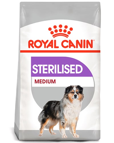Avbildet: Royal Canin Sterilised Medium hundefôr
