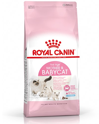 Avbildet: Royal Canin Mother & Babycat kattemat