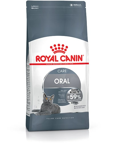 Avbildet: Royal Canin Oral Care kattemat