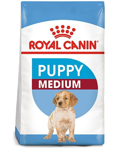 Avbildet: Royal Canin Puppy Medium hundefôr