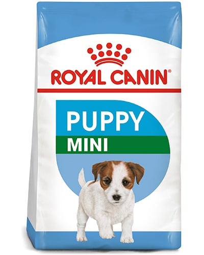 Avbildet: Royal Canin Puppy Mini hundefôr