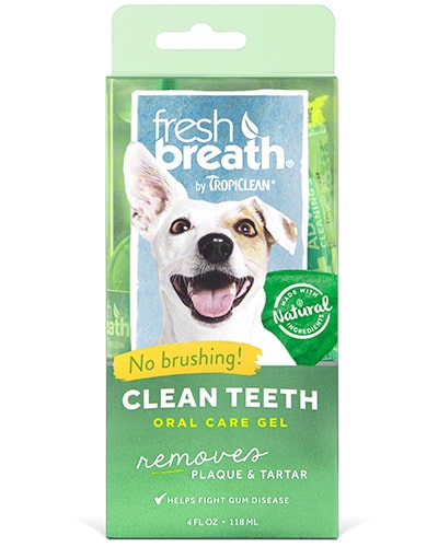 Tropiclean Clean Teeth Oral Care Gel - tannpleie til hund