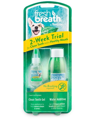 Tropiclean Fresh Breath 2week Dential Trial Kit - tannpleie til hund