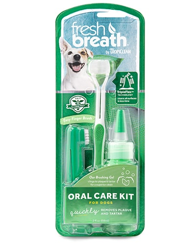 Tropiclean Oral Care Kit For Dogs - tannpleie til hund