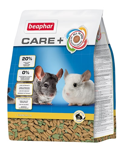 Beaphar Care+ chinchillafôr 1,5kg