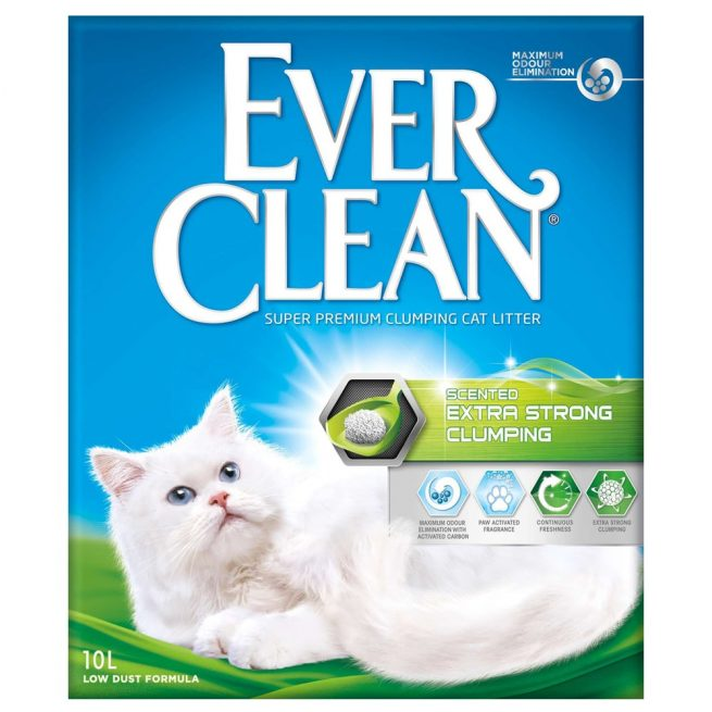 EverClean - Scented Extra Strong Clumping, 10l