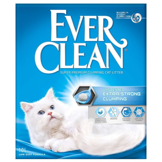 EverClean - Unscented Extra Strong Clumping, 10l