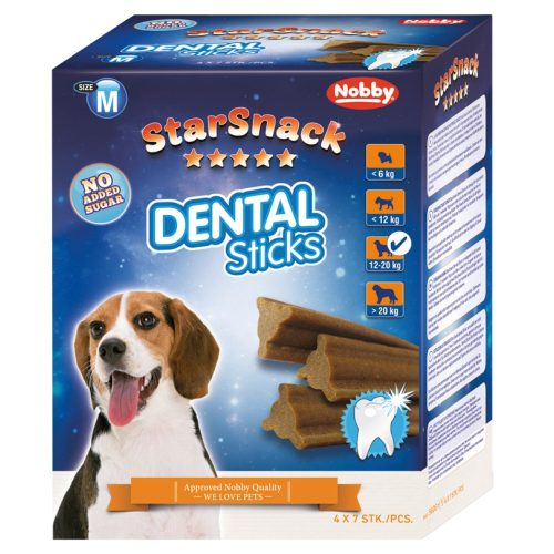Nobby - Starsnacks Dental Sticks - Medium