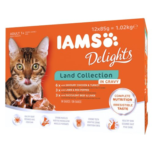 Avbildet: IAMS Delights - Land Collection