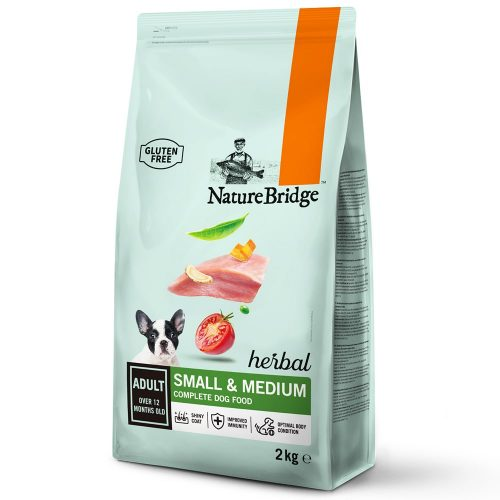 Avbildet:Nature Bridge, Adult, Small/Medium Breed, 2 kg