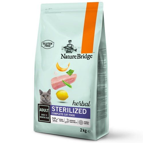 Avbildet: Nature Bridge, Sterilized Adult, 2 kg