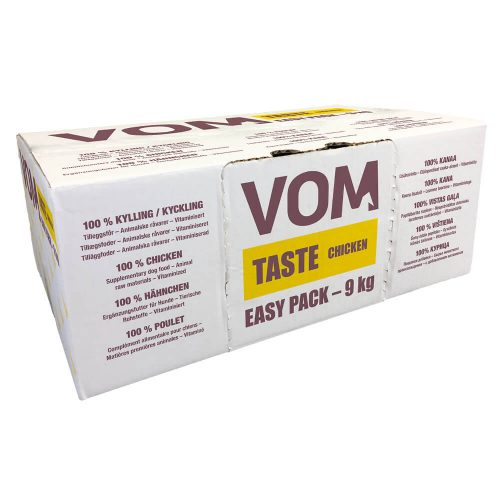 Avbildet: VOM - Taste - Chicken - Easy Pack