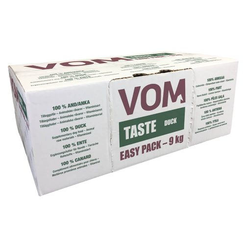 VOM - Taste - Duck - Easy Pack